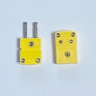 K熱電対用ミニチュアプラグセット(オス/メス)